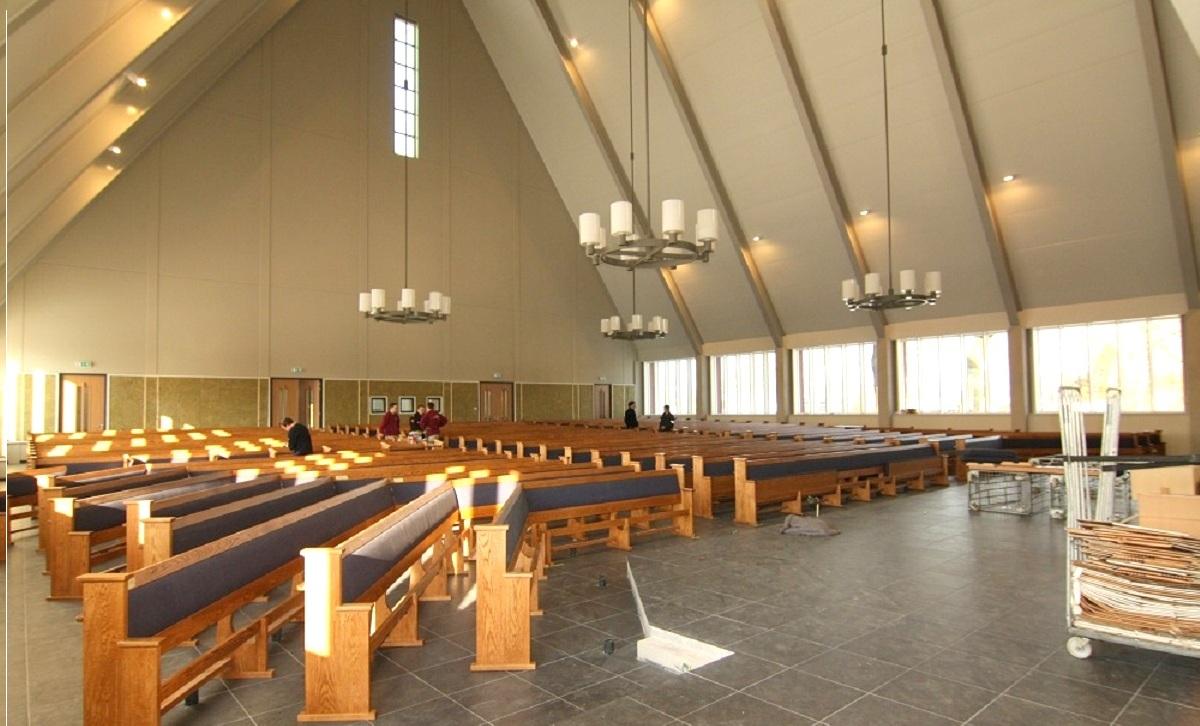Nieuwbouw Gereformeerde gemeente kerk te Ede