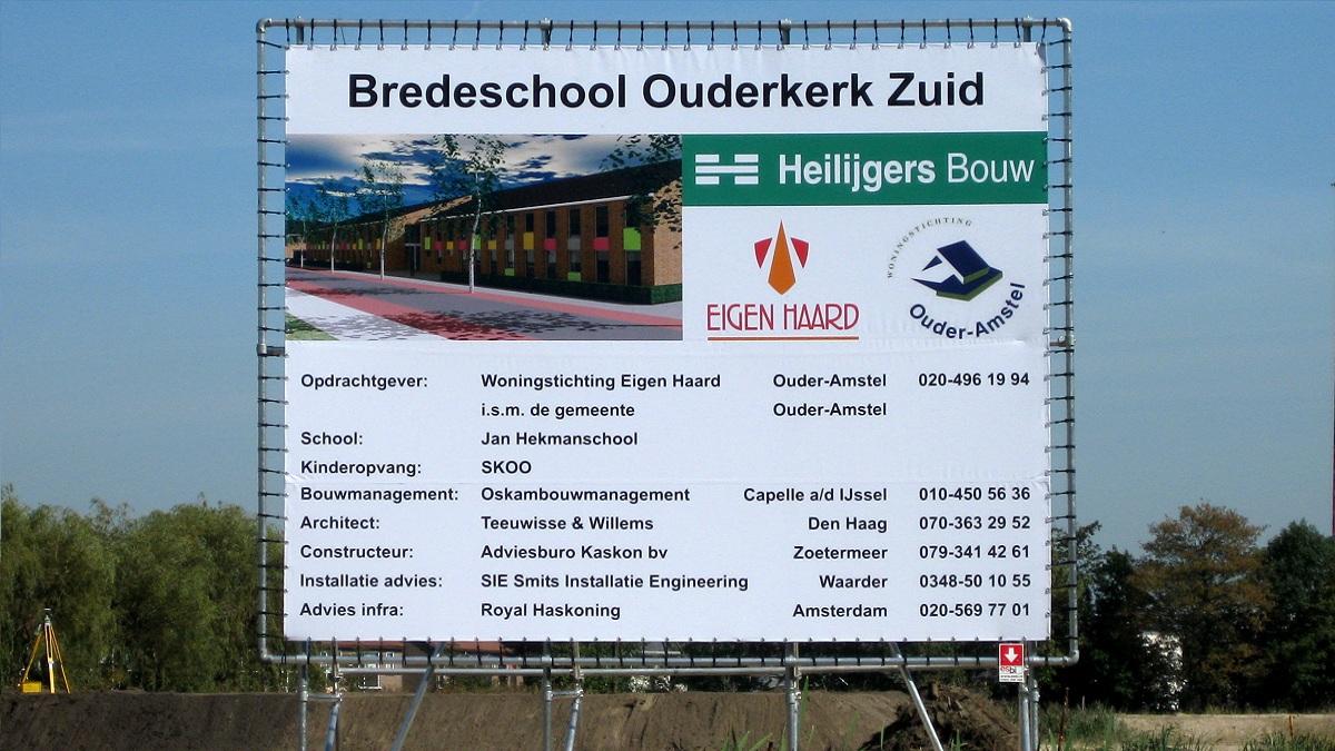 Nieuwbouw Jan Hekman school Ouderkerk aan de Amstel - Foto 3