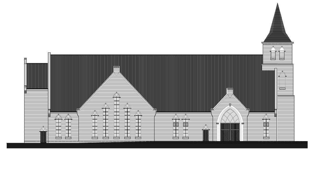 Nieuwbouw kerkgebouw GGiN te Leerdam - Foto 2