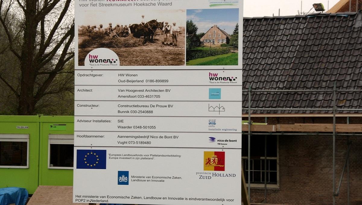 Renovatie boerderij Heinenoord naar Gemeentemuseum - Foto 2