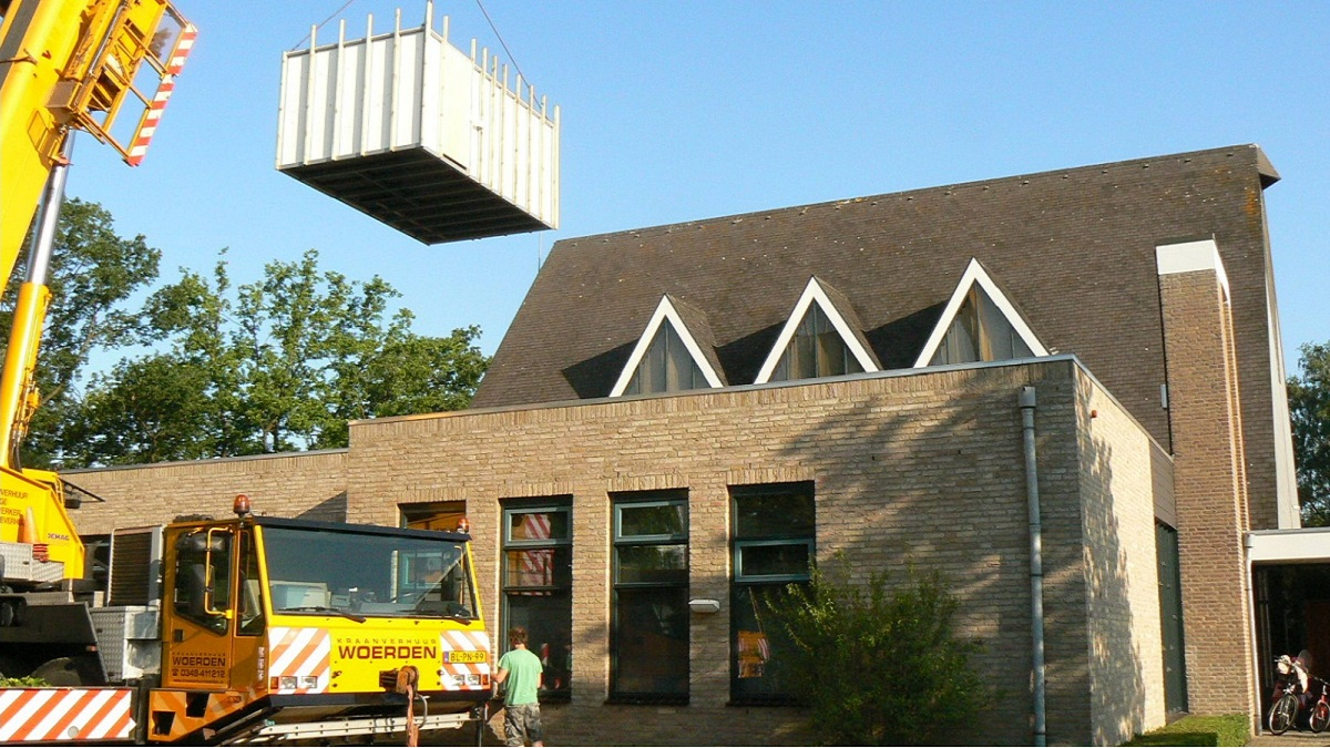 Renovatie kerkzaal Bethlehemkerk te Woerden - Foto 4